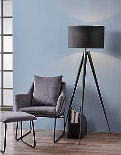 Versanora VN-L00006 Romanza Tripod Metal Legs LED Floor Lamp, Black