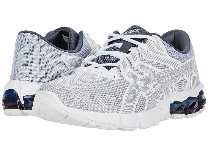 ASICS  GEL-Quantum 90 2 (White/Piedmont Grey) Mens Running Shoes