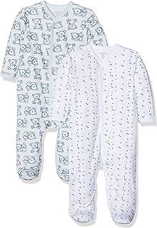 Care Baby - Mädchen 4136 Schlafstrampler 2er Pack