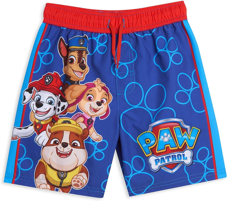 Paw Patrol Nickelodeon Chase Marshall Rubble Skye Mesh Swim Trunks