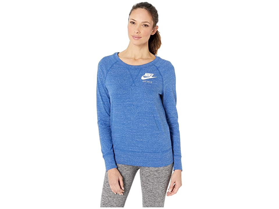Nike Sportswear Gym Vintage Crew (Indigo Force/Sail) Women