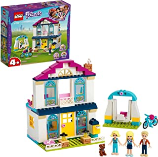 LEGO Friends 4+ Stephanie's House 41398 easy to build starter set with 3 mini-dolls, Toy for Kids 4+ years old (170 pieces)