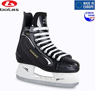 Botas - Draft 281 - Men's Ice Hockey Skates | Made in Europe (Czech Republic) | Color: Black