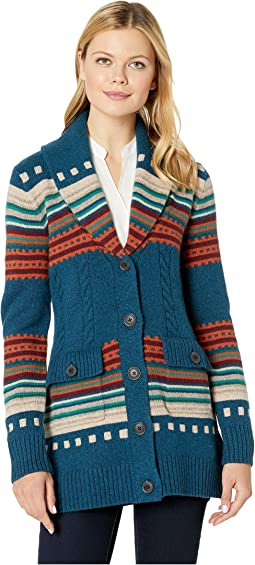 Lodge Stripe Cardigan