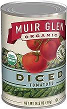 Muir Glen, Organic Diced Tomatoes, 14.5 oz (Pack of 12)