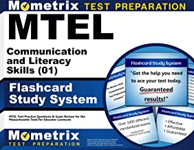 MTEL Communication and Literacy Skills (01) Flashcard Study System: MTEL Test Practice Questions & Exam Review for the Massachusetts Tests for Educator Licensure (Cards)