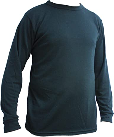 Kenyon Mens Polyester Mid Weight Crew Top
