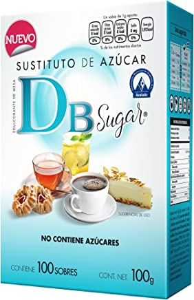 Db Sugar Substituto de Azúcar, 1 g, 100 Sobres