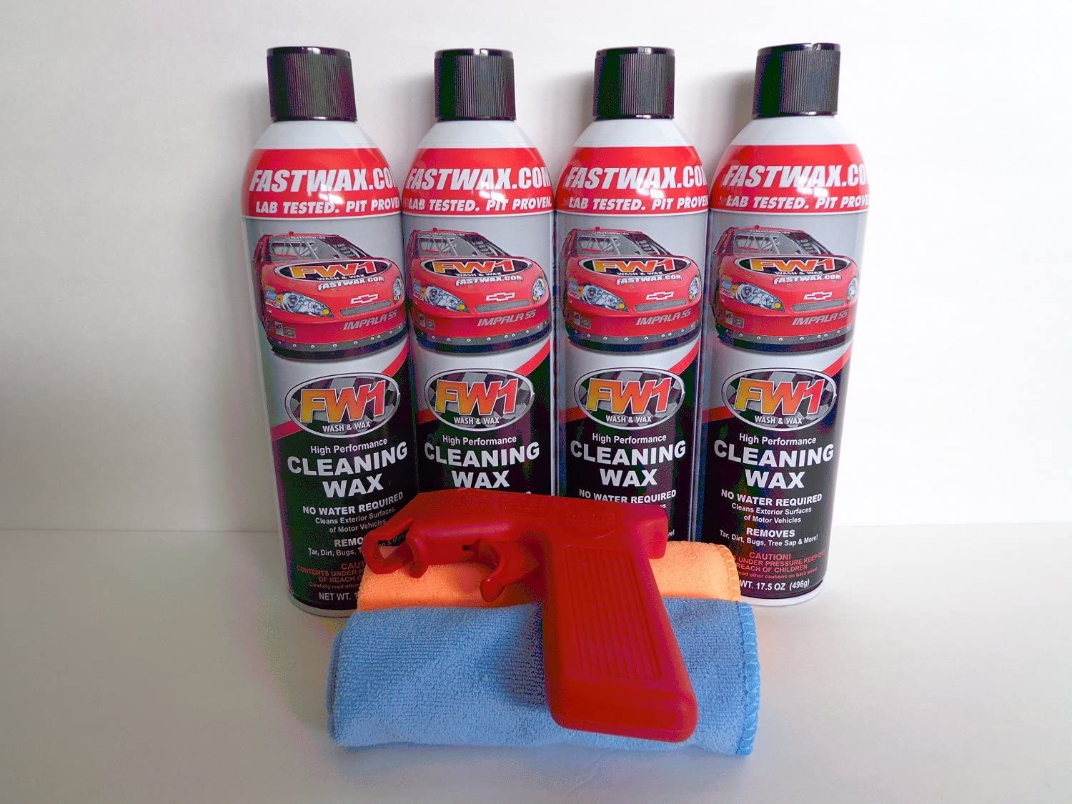 FW1 Wash and Spring new work Wax with Carnauba online shopping Fast 4 by Microfi Pack