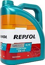Repsol RP141L55 Elite Competición 5W-40 Aceite de Motor para Coche, Transparente, 5L