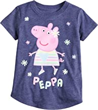 Jumping Beans Toddler Girls 2T-5T Peppa Pig Glitter Graphic Tee