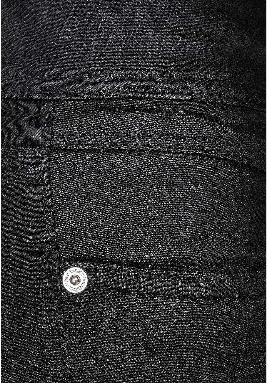 Street One Jeans Femme Black Soft Washed