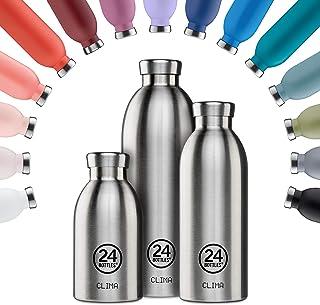24BOTTLES Clima Bottle 500 ml Prosecco Gold Bottle, Adults Unisex, Multicoloured (Multicoloured), 500 ml
