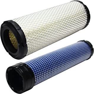 Replacement for John Deere Z930M Air Filter & Inner Air Filter - Compatible with John Deere 2508304-S Inner Air Filter & 2508301-S Filter