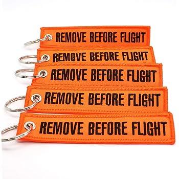Rotary13B1 Remove Before Flight Keychain Pink RBF1184
