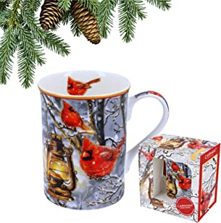 Lot de 6 magie de Noël Tasse Porcelaine Fine-Coffret cadeau Lp51560