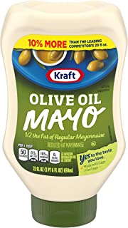 Kraft Mayonnaise with Olive Oil, 22 Fl Oz