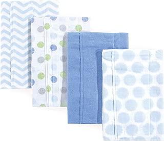 Luvable Friends 基本款棉质 bandana 围兜3个装