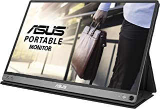 ASUS Zen Screen MB16AC 15.6 Inches Full HD Flicker Free Portable USB Monitor, Gray, MB16AC