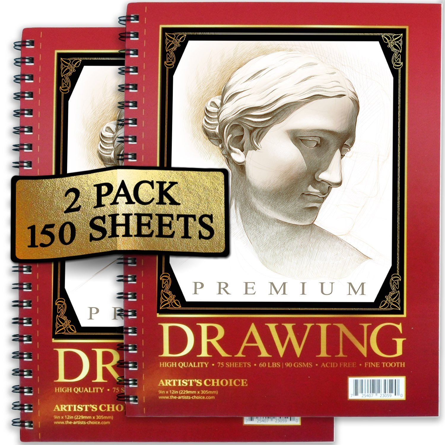 Artists Choice Sketch sheets Pack