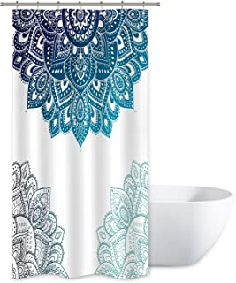 Best blue mandala shower curtain Reviews