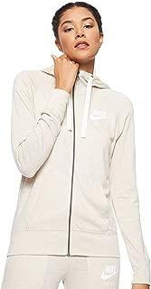 Nike Women's Sportswear Gym Vntg Hoodie Fz
