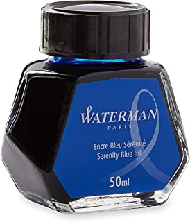 Waterman Ink 50ml - Serenity Blue