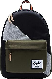 Herschel Supply Co. Classic X-Large Black/Ivy Green/Light Grey Crosshatch One Size