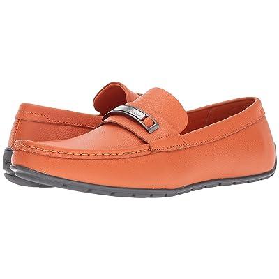 Calvin Klein Irving (Safety Orange Tumbled Leather) Men