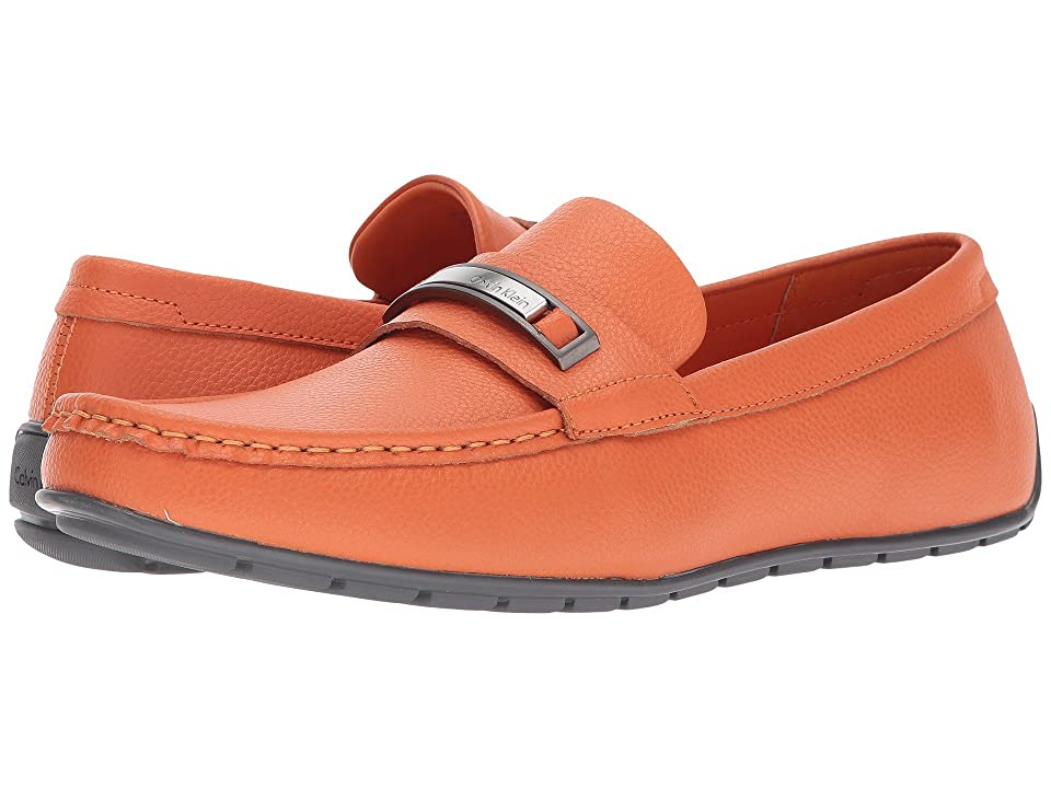 Calvin Klein Irving (Safety Orange Tumbled Leather) Men