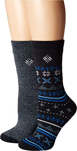 Midweight Fair Isle Thermal 2-Pack