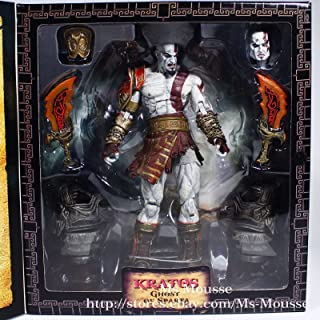 L Neca God of War 3 Ultimate Kratos 7 inch Action Figure Collector Toy New
