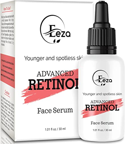 Eeza 2.5% Retinol Serum For Face I Anti aging I Night Serum for Face with Hyaluronic acid And Vitamin E I Reduce Fine...