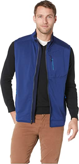 Grid Fleece Vest