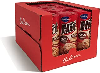 Bahlsen Hit Chocolate Filled Sandwich Cookies (12 pack) - Crisp golden biscuit filled with cocoa crème - 4.7 oz boxes