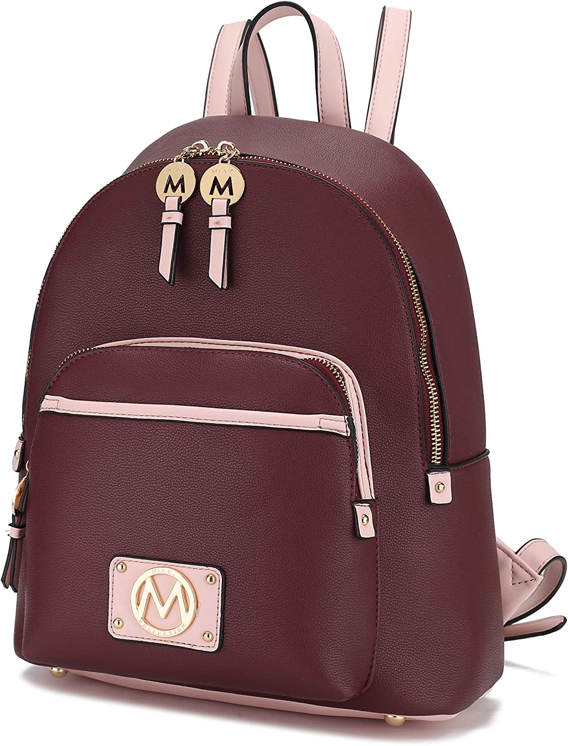 MKF Backpack Purse for Women Teen Girls Top-Handl Leather – Tampa Mall Spring new work PU