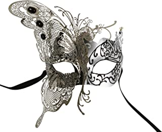 KAYSO INC The Butterfly Goddess Elegant Venetian Laser Cut Masquerade Mask