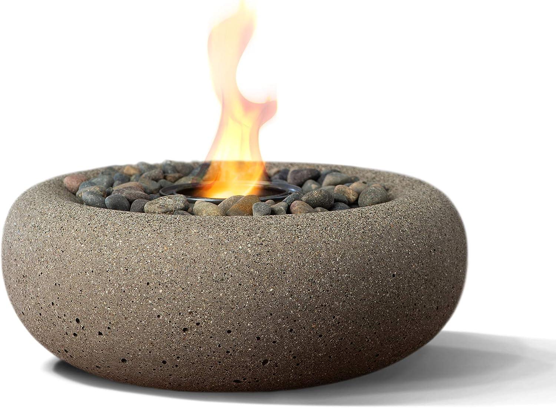 Terra Flame OD-TT-ZEN-BGE-03 Zen Table Top Max 86% OFF Bowl Max 61% OFF Fire Beige