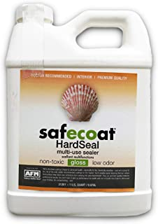 Afm Safecoat Hard Seal, White 32 Ounce Container