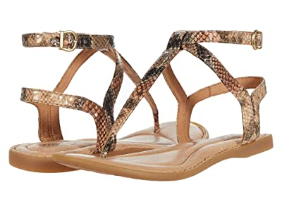 Born Acqualina (Natural Snake Print) Women