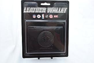 MLB Houston Astros Tri-Fold Leather Wallet, Black