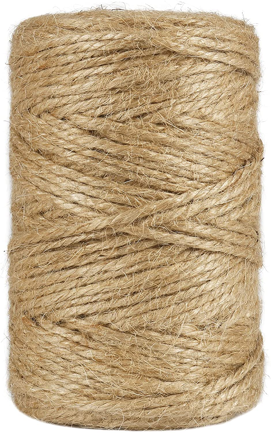 328 Feet 3mm Thick Natural Jute Twine Purchase 3Ply Be super welcome Industria Heavy Duty