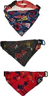 RvPaws Dog Collar Bandana, Dog Bow Tie with Adjustable Dog Collar, Scarf Cum Neckerchief Collar for Dog/Cat/Puppy 20 MM - ...