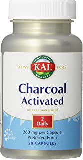 KAL Charcoal 280mg - 50 Capsules