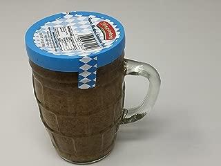 Hengstenberg Mustard Sweet Bavarian Style Mustard in Beer Glass / Bier Humpen 298 g - 10 Oz