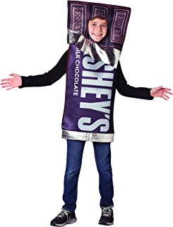 Child's Classic Hershey's Bar Wrapper Chocolate Candy Costume