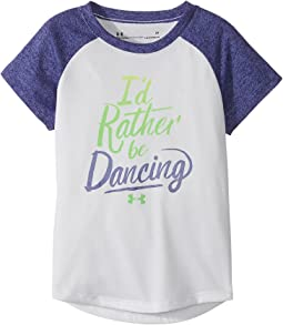 Under Armour Kids - I'd Rather Be Dancing Short Sleeve Tee (Toddler)