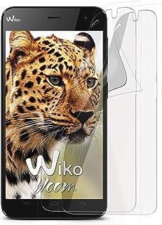 MoEx® Anti Reflex displayskyddsfolie kompatibel med Wiko Getaway | skyddsfolie matt display folie mot reflexer, flexibel, ...