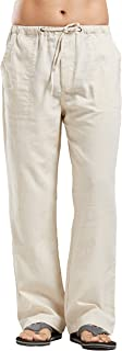 viking linen trousers