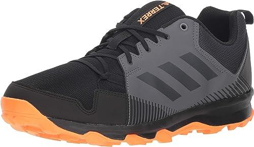 Adidas outdoor Men's Terrex Tracerocker, negro Carbon hi-res naranja, 6 D US